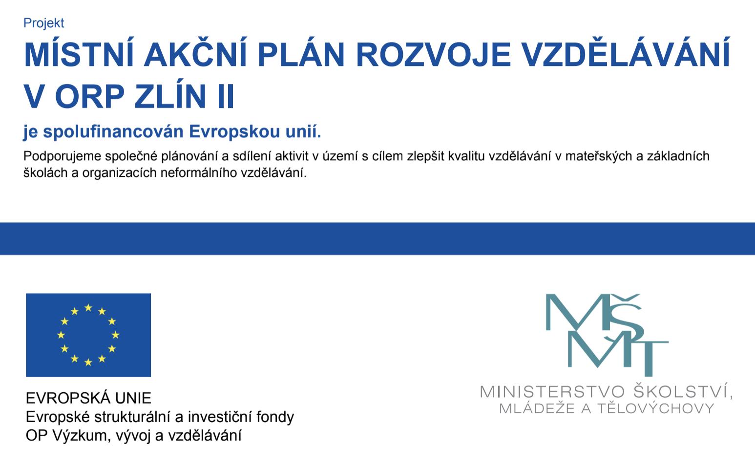 Místní akční plán rozvoje vzdělávání v ORP Zlín 2